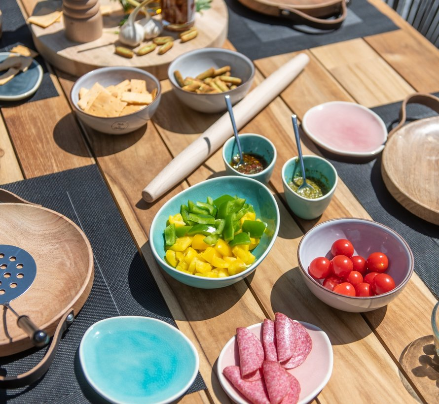 Athena Basso dining tuinset 240x100xH76 cm 7-delig 4 Seasons Outdoor