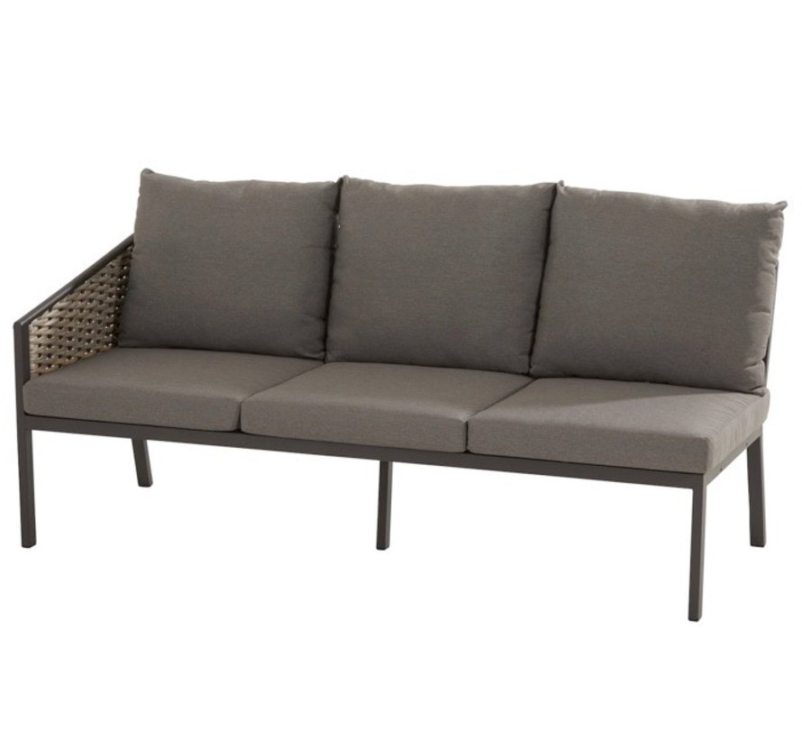 Bo cosy dining loungeset 3-delig banana weave 4 Seasons Outdoor