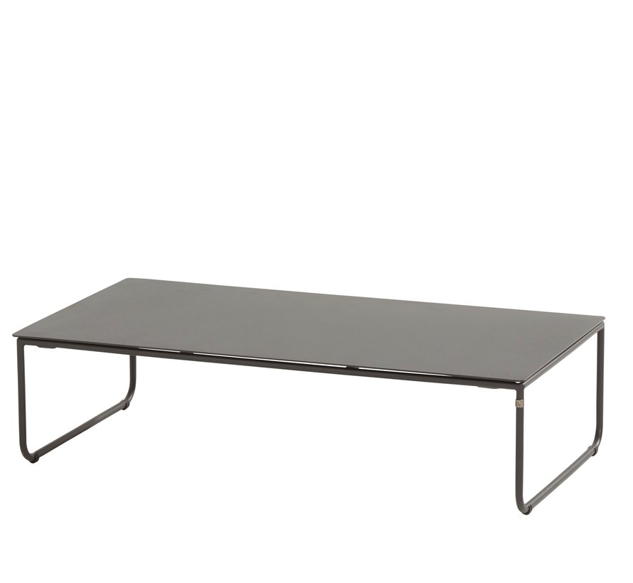 Dali lounge tuintafel 110x60xH30 cm antraciet 4-Seasons Outdoor