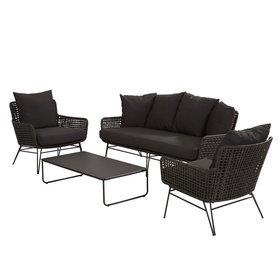 Taste 4SO Opera stoel-bank loungeset 4-delig Taste 4SO aluminium