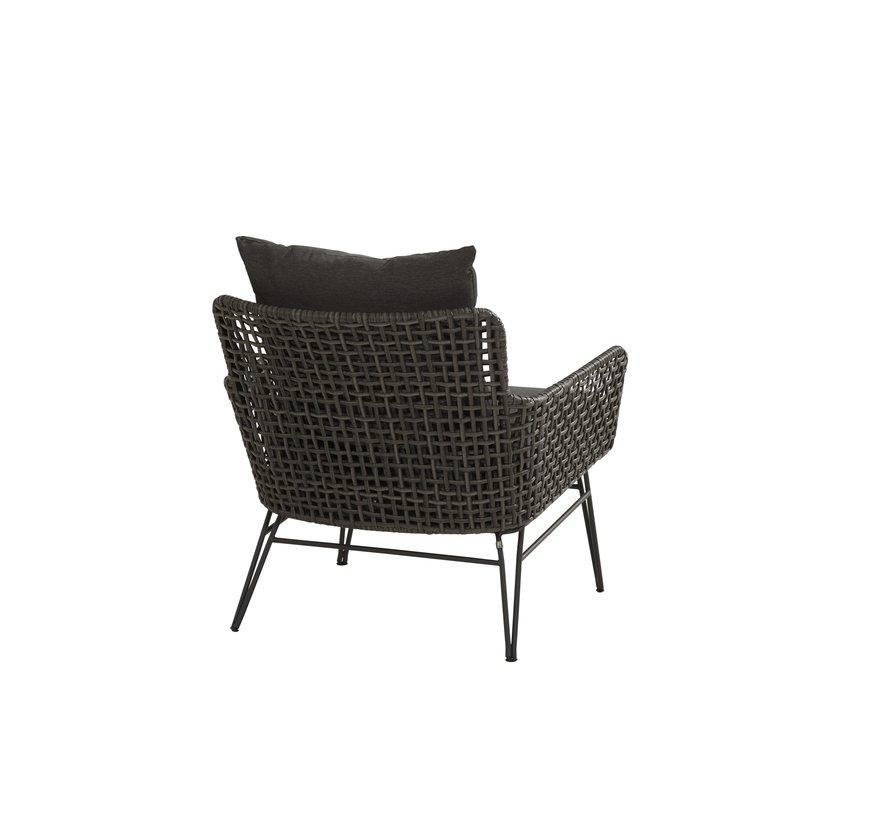 Opera stoel-bank loungeset 4-delig Taste 4SO aluminium