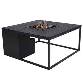 Cosi Fires Cosiloft 100 frame aluminium zwart - top zwart Cosi Fires