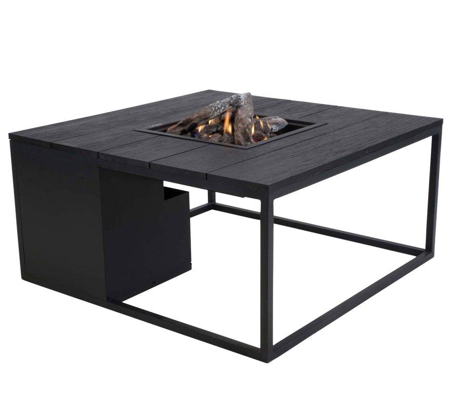 Cosiloft 100 frame aluminium zwart - top zwart Cosi Fires