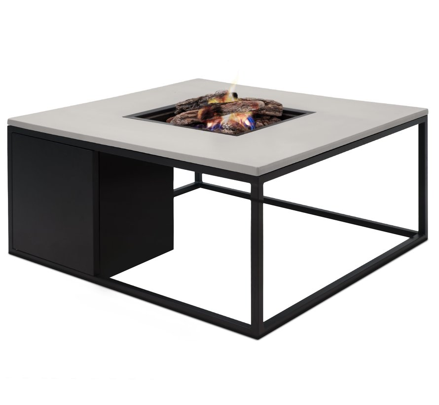 Cosiloft 100 frame aluminium zwart - top grijs Cosi Fires