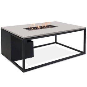 Cosi Fires Cosiloft 120 frame aluminium zwart - top grijs