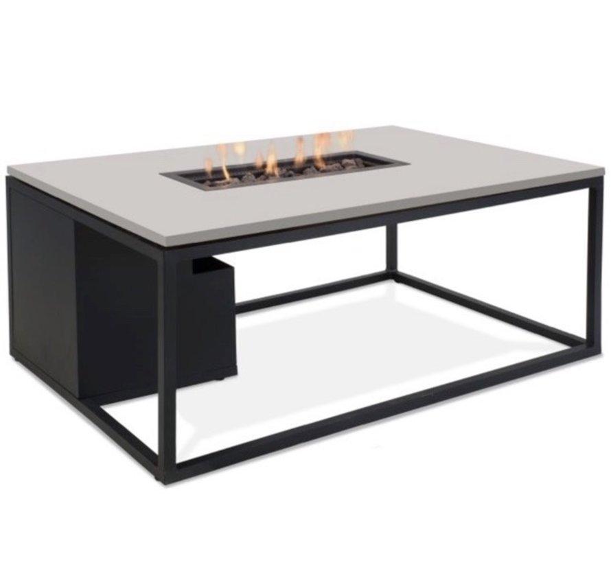 Cosiloft 120 frame aluminium zwart - top grijs
