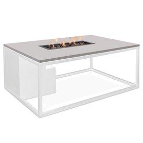 Cosi Fires Cosiloft 120 frame aluminium wit - top grijs
