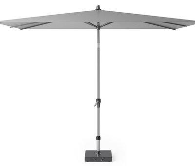 Platinum Riva parasol 300x200 cm lichtgrijs met kniksysteem