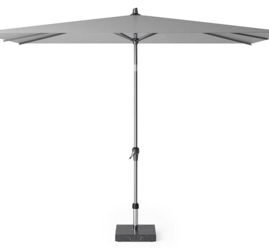 Riva parasol 300x200 cm lichtgrijs met kniksysteem