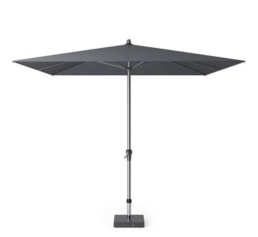 Riva parasol 275x275 cm antraciet met kniksysteem