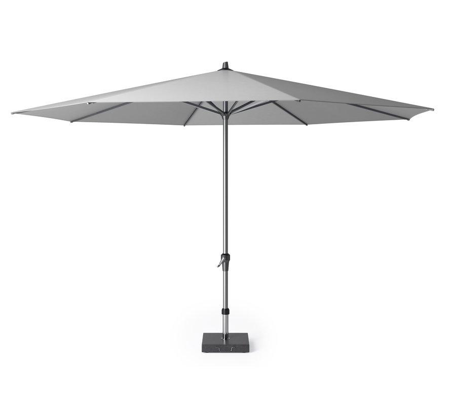 Riva parasol 400 cm rond lichtgrijs