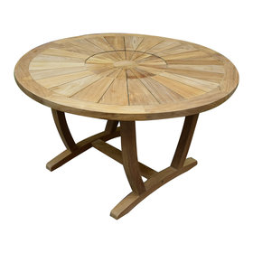 AVH-Collectie Lima dining tuintafel 130 cm rond