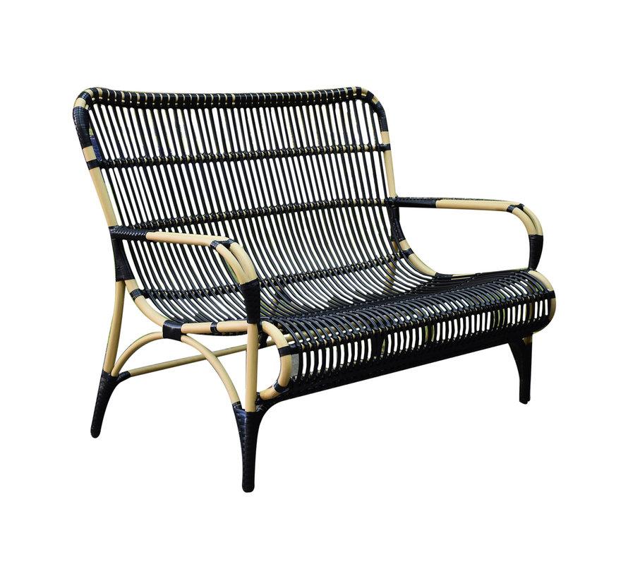 Tahiti stoel-bank loungeset 4-delig