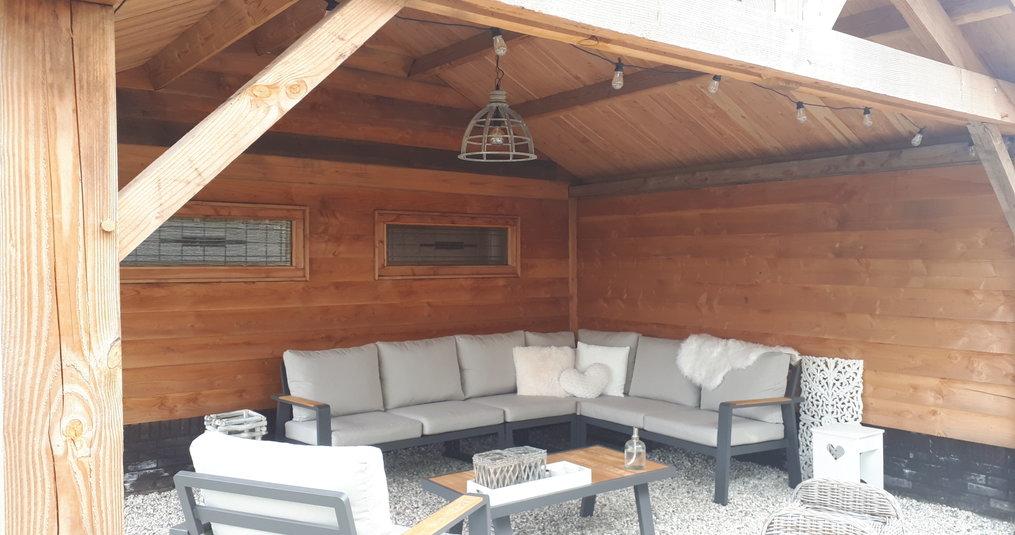 Een comfortabele loungeset voor in de tuin