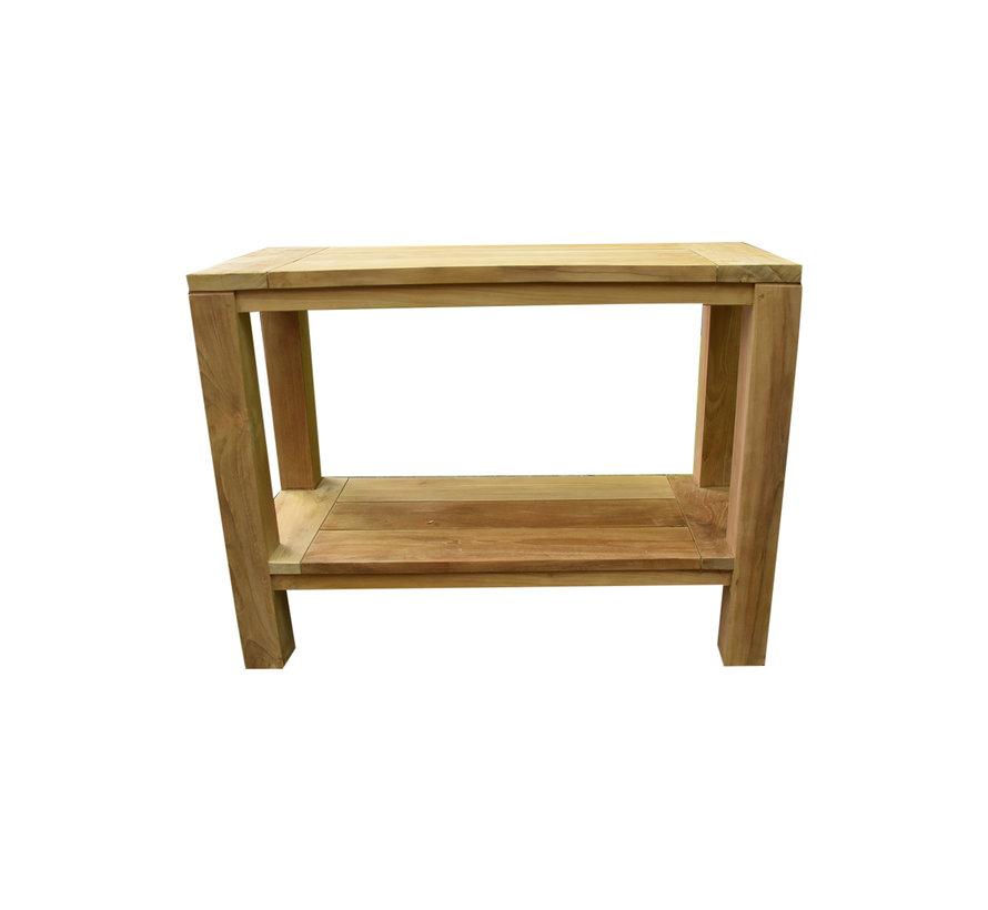Legno side table 100x42xH75 cm teak