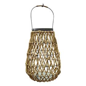 AVH-Collectie Linsy windlicht bruin