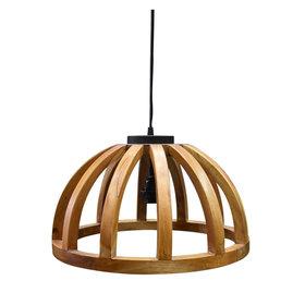 AVH-Collectie Stella hanglamp halve cirkel hout