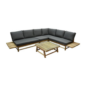 AVH-Collectie Piton lounge set bamboe