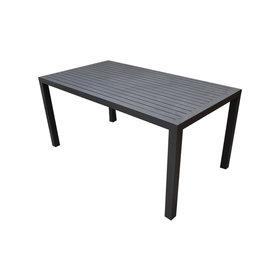 AVH-Collectie Ardore dining tuintafel 180x90 cm aluminium antraciet