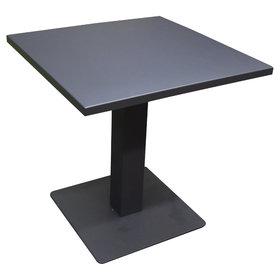 AVH-Collectie Fanto lounge tuintafel 70x70xH72 cm aluminium antraciet