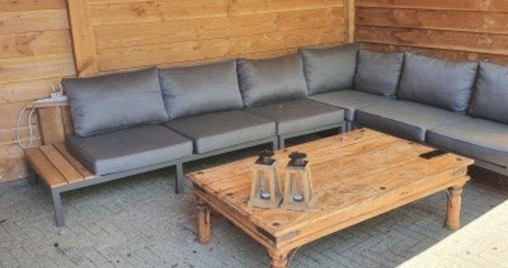 Een houten tuinset voor je tuin aanschaffen