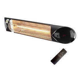 AVH-Collectie Elektrische infrarood terrasverwarmer Star zwart - 2000 W