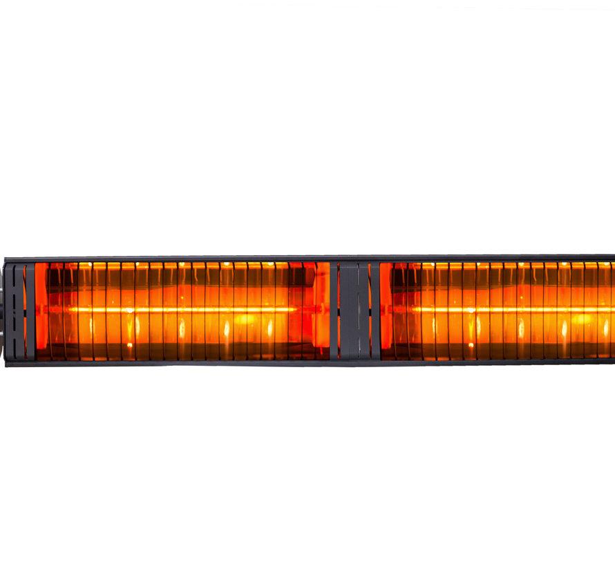 Elektrische infrarood terrasverwarmer Iras zwart - 3000 W