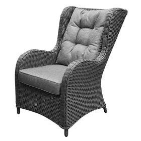 AVH-Collectie Arezza premium lounge tuinstoel antraciet