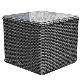 AVH-Collectie Toscane premium bijzettafel 50x50xH45 cm antraciet