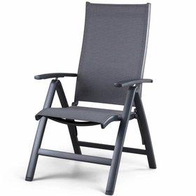 SUNS Lucca standenstoel verstelbaar aluminium antraciet