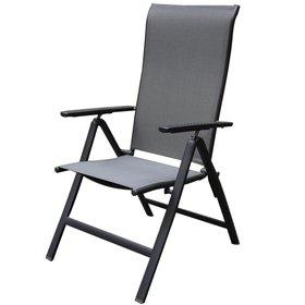 SUNS Vigo standenstoel verstelbaar aluminium antraciet