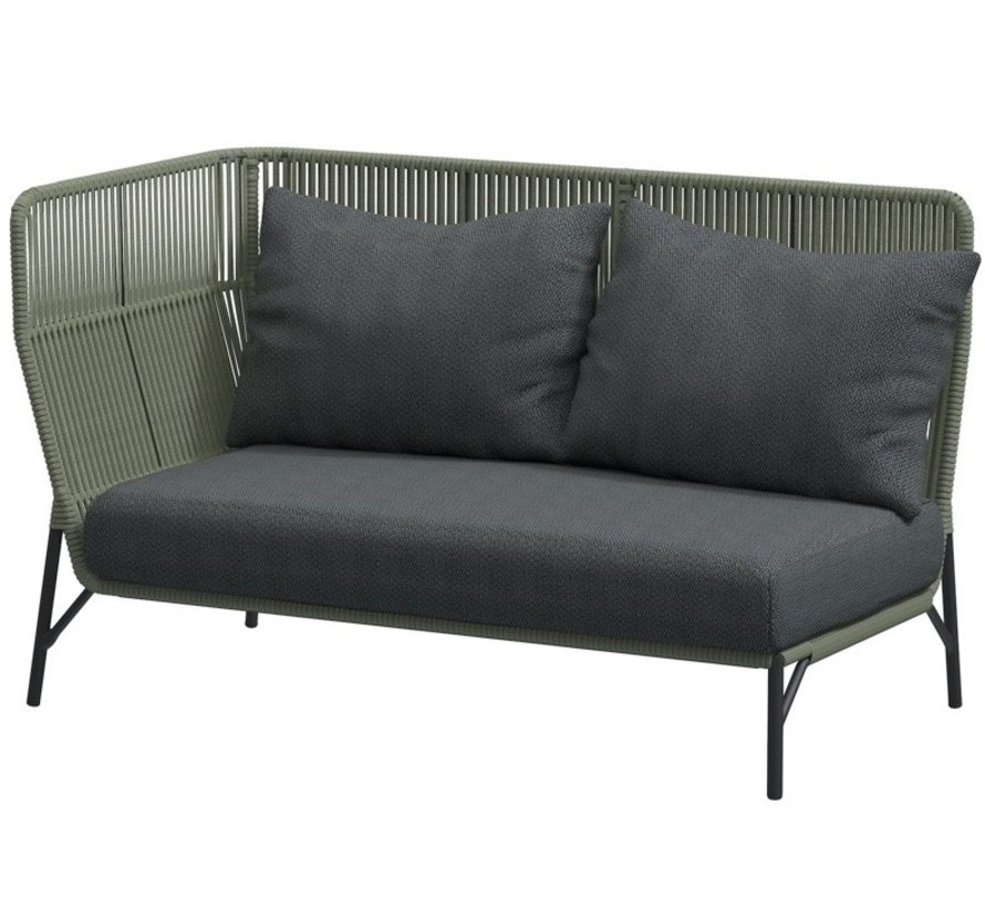 4 Seasons Outdoor Altoro modulair hoek loungeset 4-delig rope