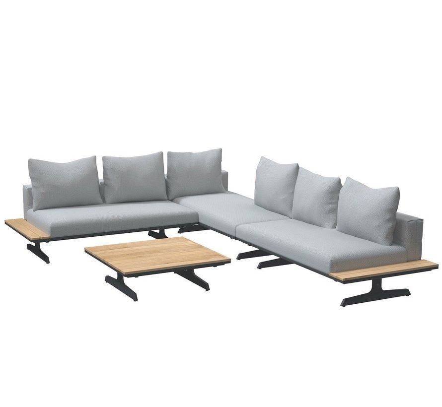 4 Seasons Outdoor Endless multi concept hoek loungeset 4-delig