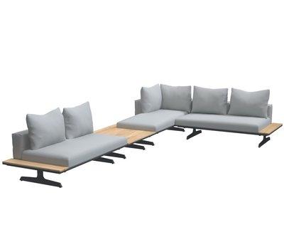 4 Seasons Outdoor 4 Seasons Outdoor Endless multi concept hoek loungeset 4-delig