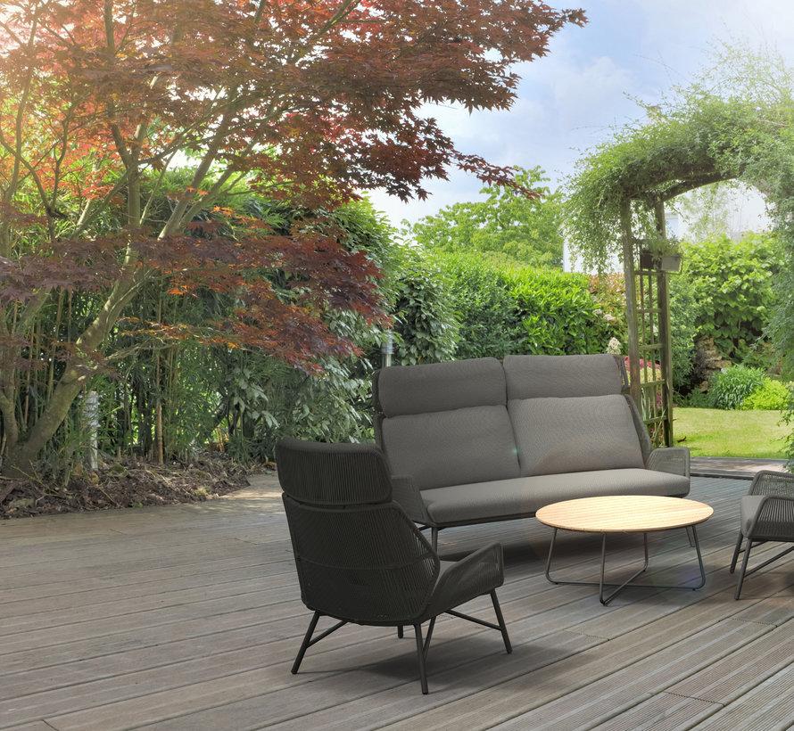 4 Seasons Outdoor Carthago stoel bank loungeset 4-delig rope
