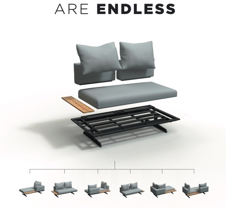 4 Seasons Outdoor Endless multi concept ligbed 2-delig
