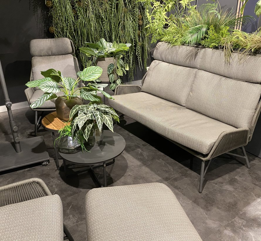 4 Seasons Outdoor Carthago stoel bank loungeset 5-delig rope