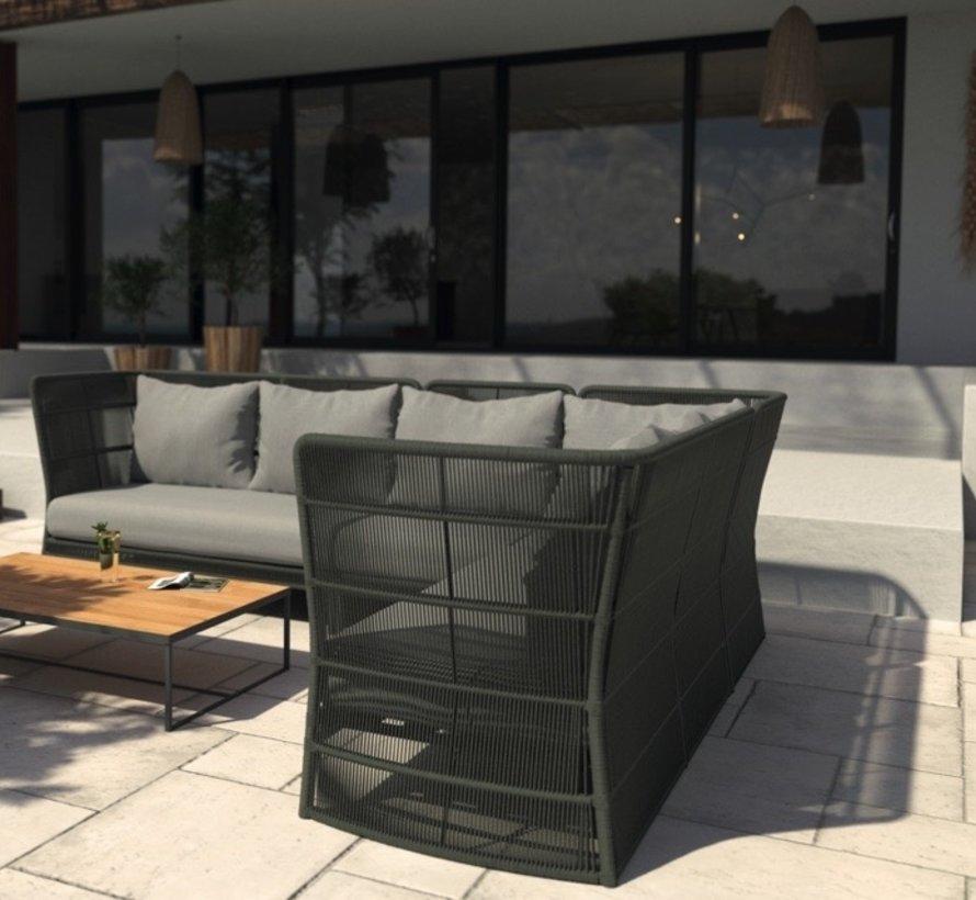 4 Seasons Outdoor Oriënt modulair hoekelement Platinum