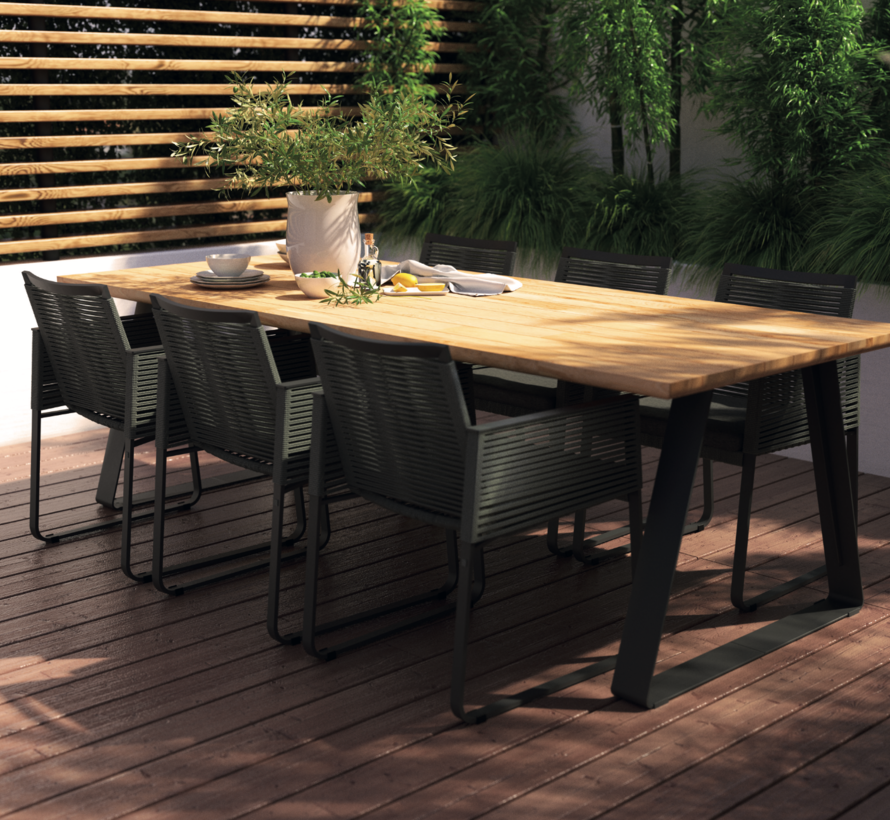 4 Seasons Outdoor Ortea dining stoel rope