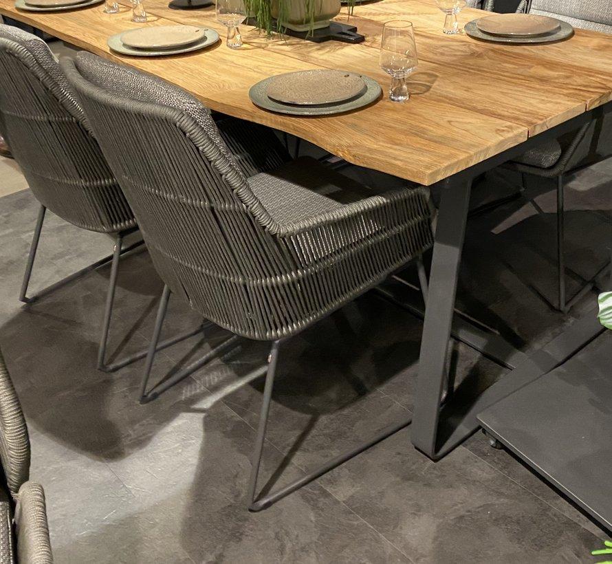 4 Seasons Outdoor Valencia dining stoel Platinum