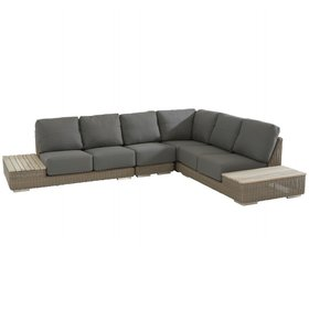 4 Seasons Outdoor 4 Seasons Outdoor Kingston hoek loungeset 4 delig pure