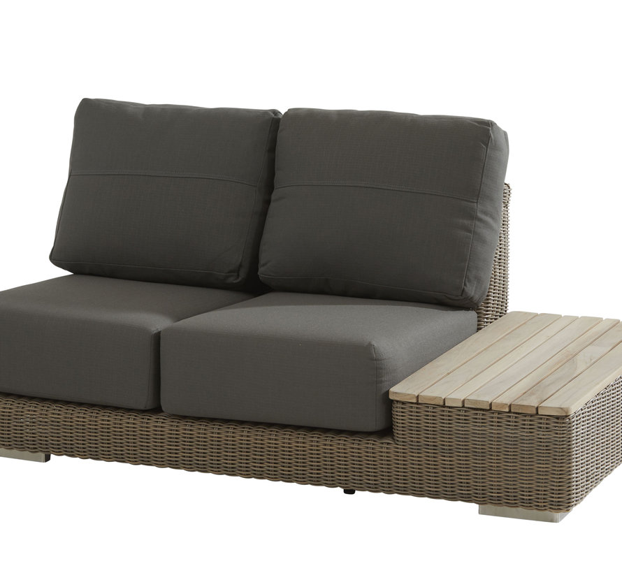 4 Seasons Outdoor Kingston hoek loungeset 4 delig pure