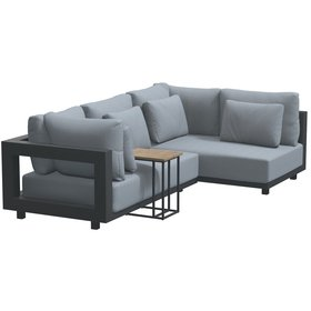 4 Seasons Outdoor 4 Seasons Outdoor Metropolitan hoek loungeset 3 delig