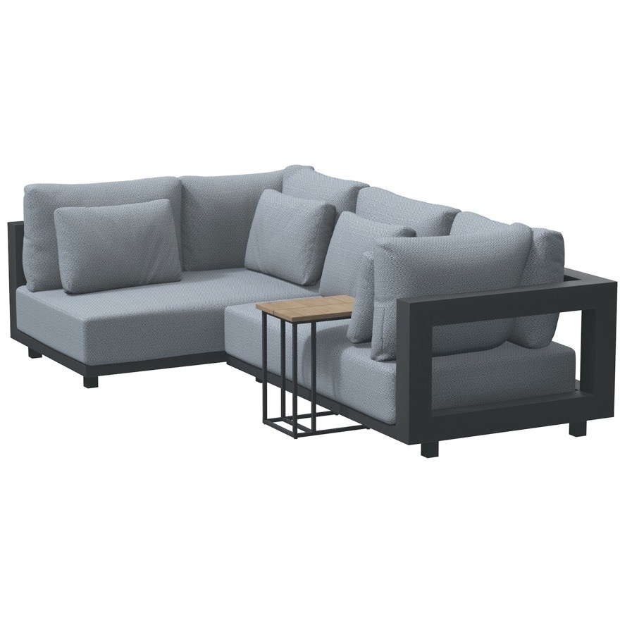 4 Seasons Outdoor Metropolitan hoek loungeset 3 delig