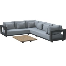 4 Seasons Outdoor 4 Seasons Outdoor Metropolitan hoek loungeset 4 delig links