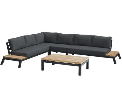 4 Seasons Outdoor 4 Seasons Outdoor Empire platform hoek loungeset 5 delig aluminium