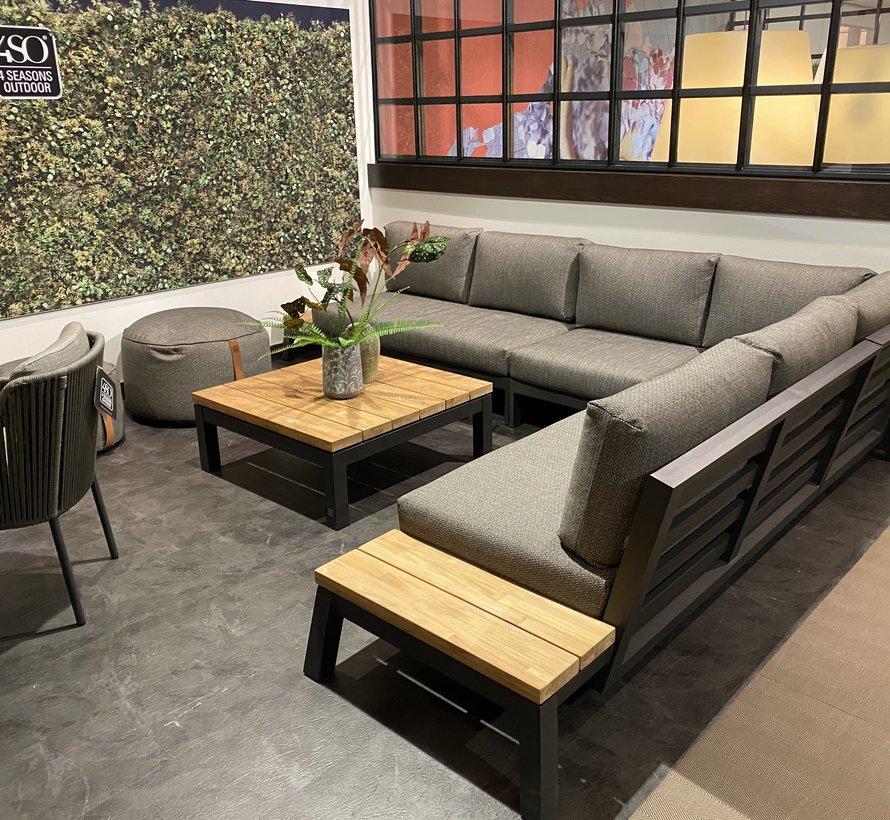 4 Seasons Outdoor Empire platform hoek loungeset 4 delig aluminium