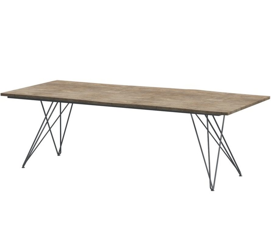 4 Seasons Outdoor Robusto Tampa tafel 220x90xH75 cm