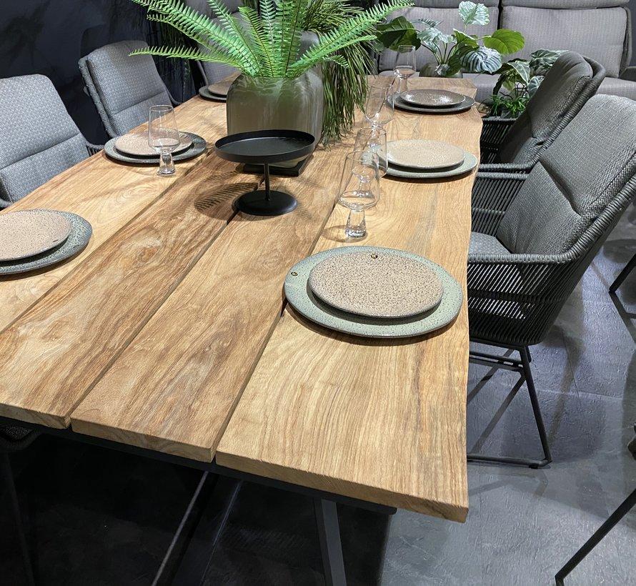 Konos Robusto dining tuintafel 220x90xH75 cm antraciet