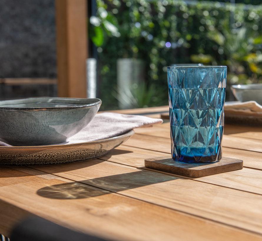 Alto Barista dining tuinset 240x100xH75 cm 7 delig blauw Taste 4SO